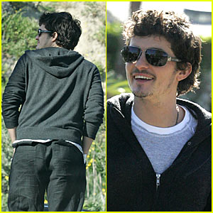 Orlando Bloom From Behind