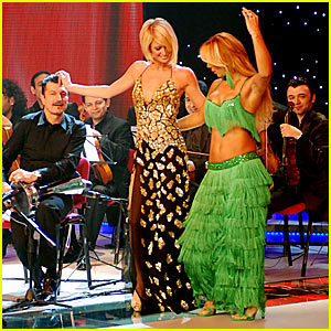 Paris Hilton is a Belly Dancer