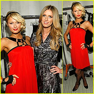 Paris Hilton @ L.A. Fashion Week 2008
