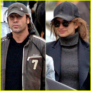 Penelope Cruz & Javier Bardem Stroll Lovers Lane