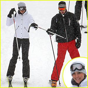 Prince William & Kate Middleton Hit the Ski Slopes