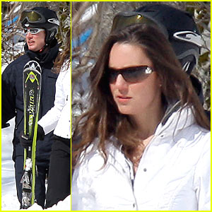 Prince William and Kate Middleton Go Downhill