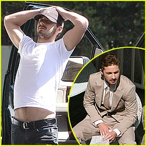 Shia LaBeouf Has a Sexy Stomach