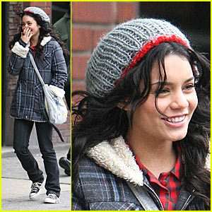 Vanessa Hudgens: Will'in & Chillin' in New York
