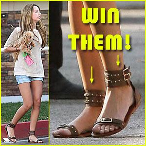 Win Ashley Tisdale's Matt Bernson Sandals