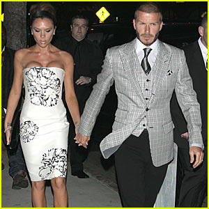 The Beckhams: Viva Via Veneto!