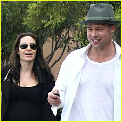 Brad & Angelina En France