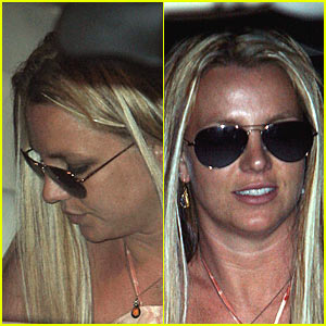 Salon Day For Britney Spears