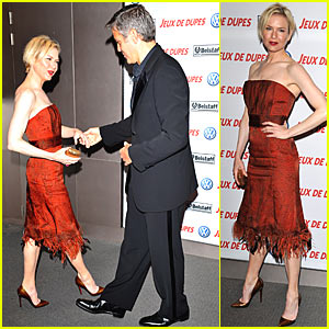 George Clooney and Renee Zellweger Do a Little Dance