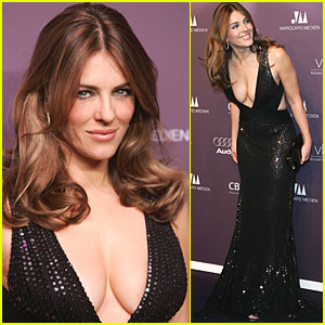 Elizabeth Hurley is a Shooting Duftstar