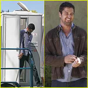 Gerard Butler is a Potty Mouth -- Literally!