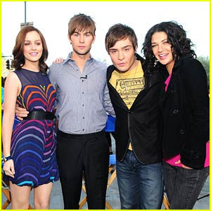 Gossip Girl Visits The Early Show