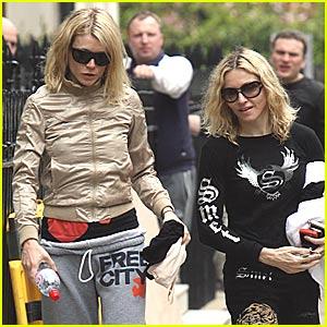 Gwyneth Paltrow & Madonna: Gym Buddies For Life!