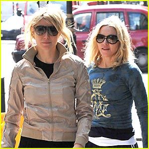 Gwyneth Paltrow & Madonna: Trim and Trimmer!