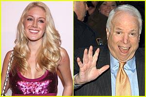 Heidi Montag: I'm Voting John McCain