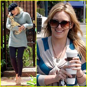 Hilary Duff is Cuckoo for Coffee