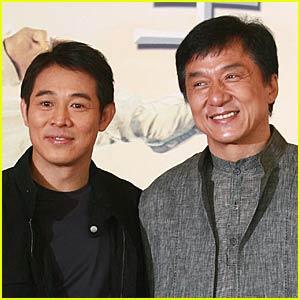 Jet Li and Jackie Chan's Forbidden Kingdom