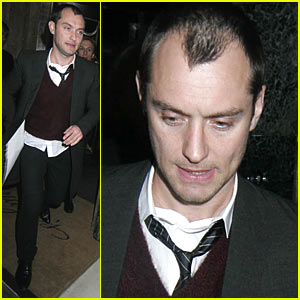 Jude Law & Jeremy Gilley's Dinner Date