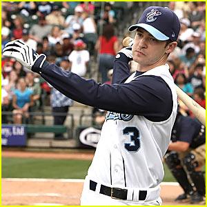 Justin Timberlake is a Baseball Player
