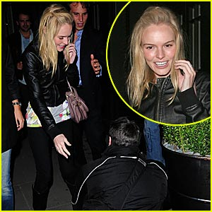 Kate Bosworth Lets Loose in London