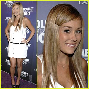 Lauren Conrad Absolutly Glows in the Dark