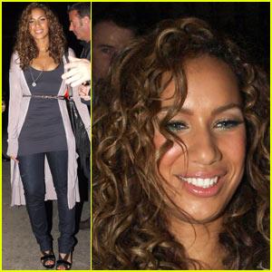 Leona Lewis is Bleeding Love @ Jimmy Kimmel