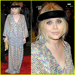Mary-Kate Olsen Celebrates New Year's in April