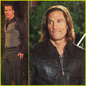 Matthew McConaughey is Fabio's Ghost