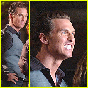 Matthew McConaughey Sees Dead People