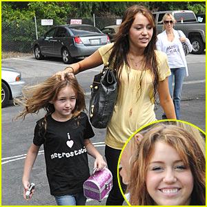 Miley Cyrus - Duck Duck Goose!