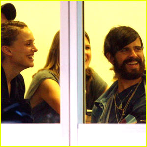 Natalie Portman & Devendra Banhart Laugh a Lot