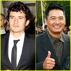 Orlando Bloom and Chow Yun Fat Team Up