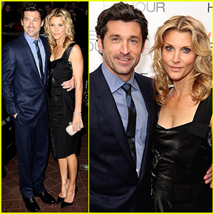 Patrick Dempsey At Made Of Honor Premiere Patrick Dempsey Just