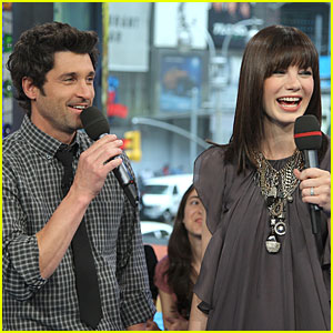 Patrick Dempsey &#038; Michelle Monaghan - MTV's TRL