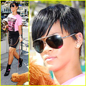 Rihanna's Double Chin Heads to Recording Studio