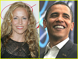 Sheryl Crow Backs Barack Obama