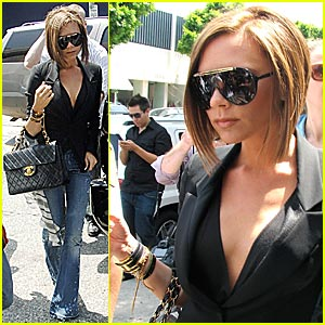 Victoria Beckham Patches Things Up With Kitson