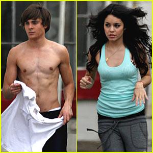 Zac Efron is Shirtless!  Shirtless!  Shirtless!
