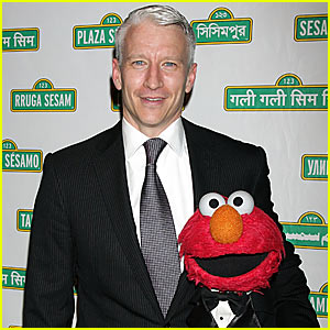 Anderson Cooper: Tickle Me, Elmo!