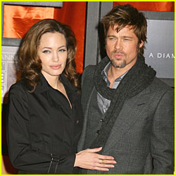 Angelina and Brad - Time's 100 Most Influential People