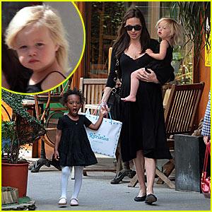 Angelina Jolie's Monaco Monday