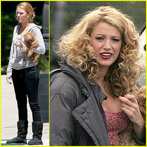Blake Lively Curly Hair on Blake Lively Takes A Curly Cue   Blake Lively   Just Jared
