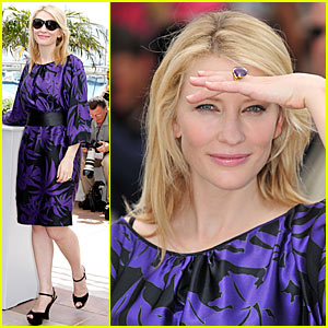 Cate Blanchett Does the Cannes Cannes