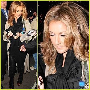 Celine Dion is High on O2