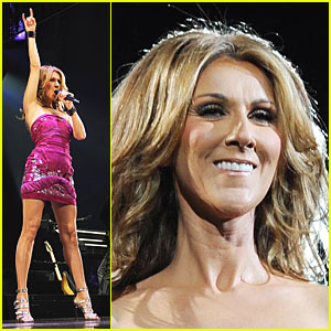Celine Dion Has Oxygen Overload
