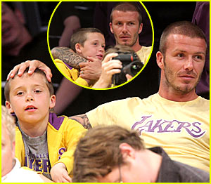 David Beckham's Boy Bonding Time
