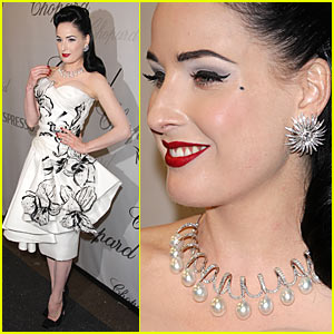 Dita Von Teese is a Chopard Chick