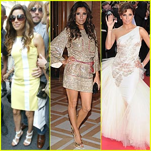 Eva Longoria Does the Cannes Cannes