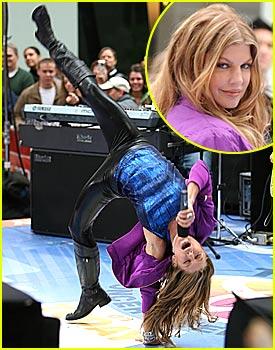 Fergie is a Flipping Freak