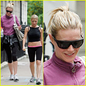 Gwyneth Paltrow Works Up a Sweat With Tracey Anderson